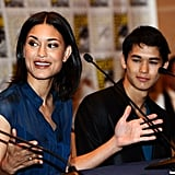 Julia Jones and Booboo Stewart