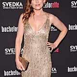 Isla Fisher donned Stella McCartney to the NYC premiere of Bachelorette.
