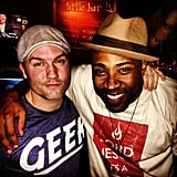 Hart of Dixie's Scott Porter and Lavon Williams spent some time together off the set. Source: Instagram user skittishkid
