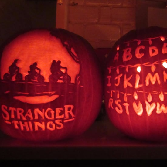 Stranger Things Pumpkin Ideas
