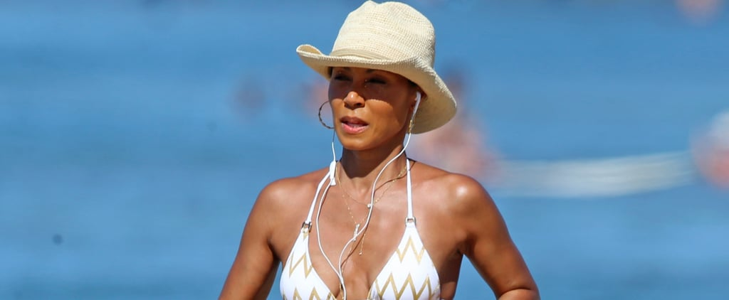 Jada Pinkett Smith Looks Flawless While Hitting the Beach With Her Kids in Hawaii
