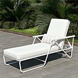 Connie Outdoor Reclining Chaise Lounge with Cushion