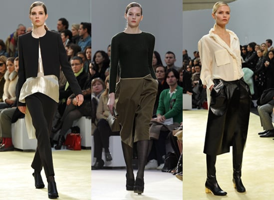 Photos from the Celine Autumn 2010 Show at Paris Fashion Week
