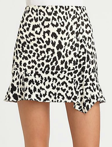 Thakoon's leopard-print ruffle skirt ($320) is beyond stunning. We can't decide what we adore more: the asymmetrical ruffles or the loud print. We'd wear it with a sleek turtleneck now and a tank when the weather warms up.