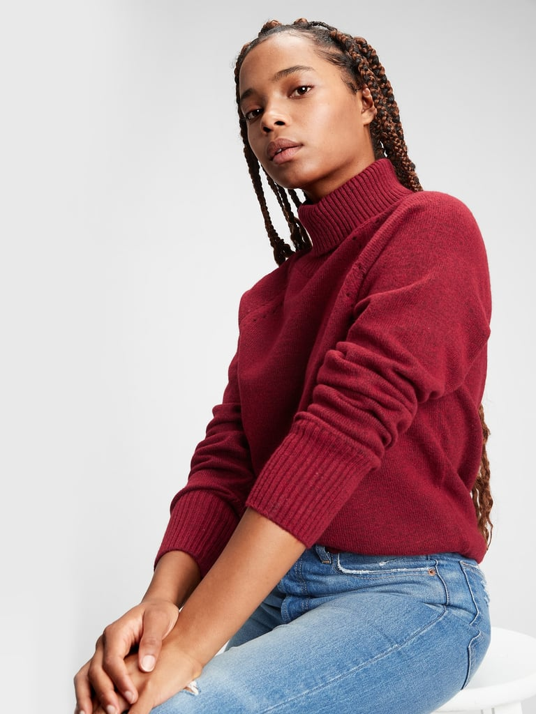 Gap Supersoft Brushed Turtleneck Sweater