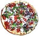 Green Pepper Pizza