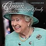 Queen and Royal Family Wall Calendar