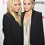 Ashley Olsen and Mary-Kate Olsen both wore black blazers to the event.