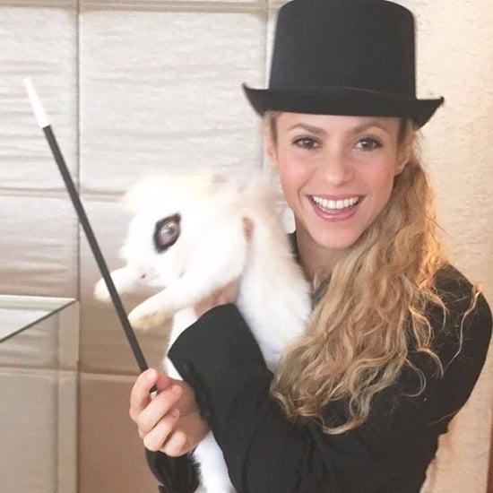 Shakira Dressed as a Magician on Instagram