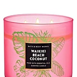 Waikiki Beach Coconut 3-Wick Candle