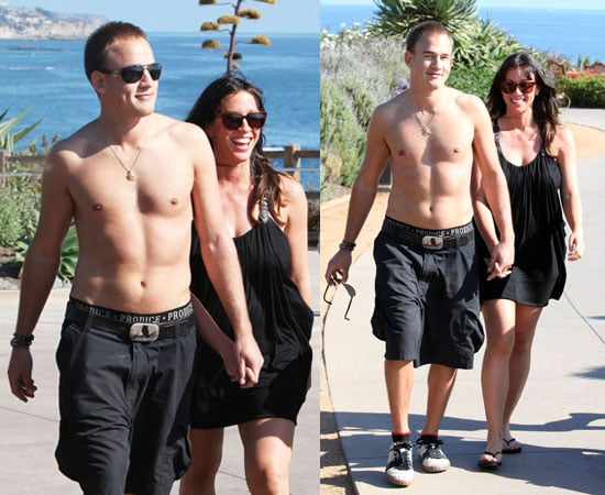 Pictures of Pregnant Alanis Morissette With Shirtless Husband Mario Souleye Treadway at Spa