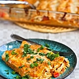 Pumpkin and Chicken Enchiladas