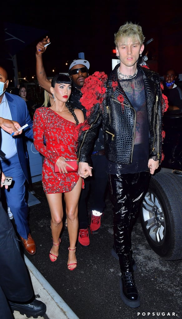 Megan Fox and Machine Gun Kelly at the 2021 Met Gala After Party