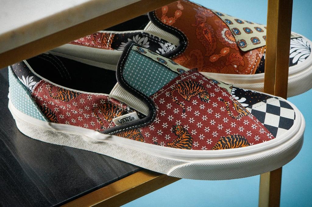 New Vans Tiger Patchwork Sneakers