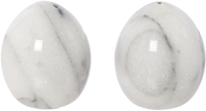 Linea Set of 2 Marble Shakers