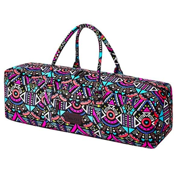 Patterned Yoga Bag