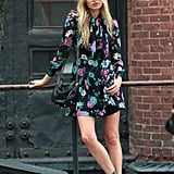 The streets of New York City are basically her catwalk.