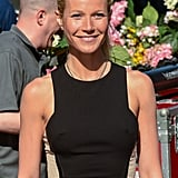 Gywneth Paltrow left Good Morning America after her appearance on the show in NYC.