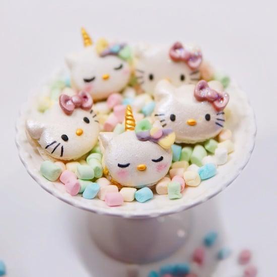 Hello Kitty Unicorn Macaron Recipe