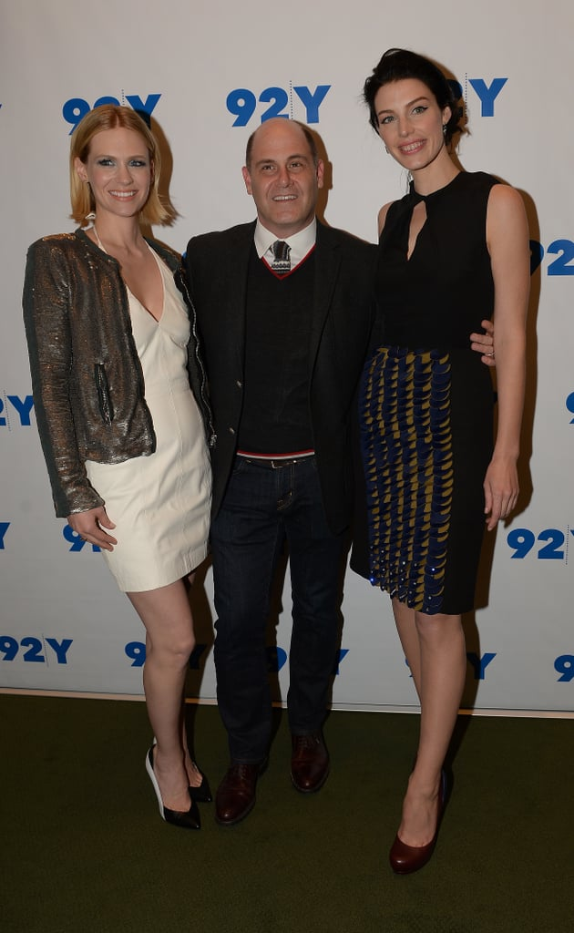 January Jones and Jessica Paré Ditch Don Draper For a Mad Men Chat