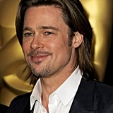 Brad Pitt at the 2012 Oscar nominees lunch.