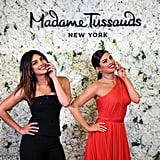 Priyanka Chopra With Her Wax Figure Pictures Feb. 2019