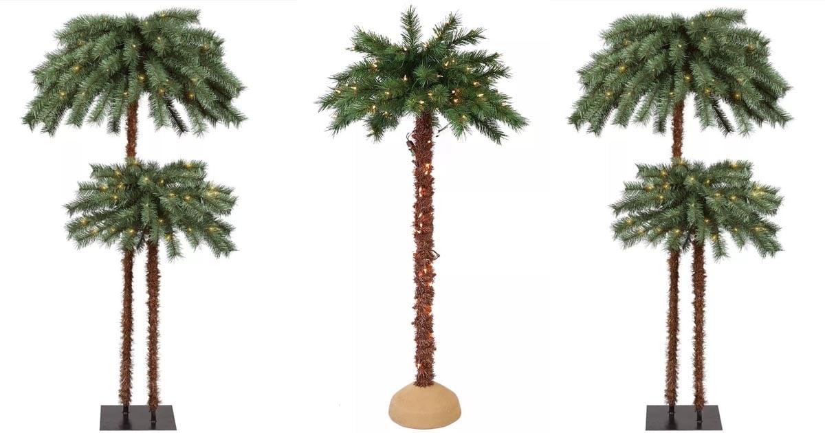 Target Has Christmas Palm Trees