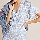 Cloth & Stone Floral Surplice Romper