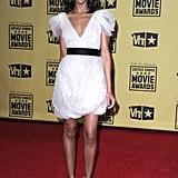 Zoe looked sweet wearing Jason Wu to the Critics' Choice Movie Awards.