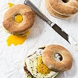 Turkey Sausage Breakfast Sandwich