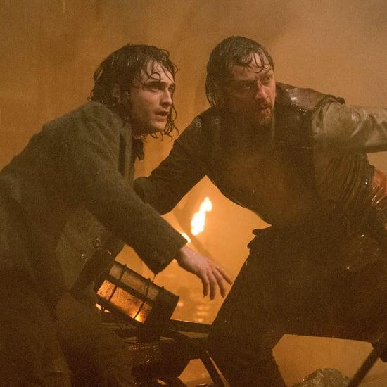 Daniel Radcliffe and James McAvoy Victor Frankenstein Video