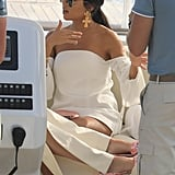Kourtney Kardashian and Kendall Jenner in Cannes May 2017