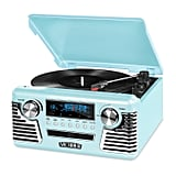 Victrola Teal Retro Record Player
