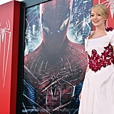 See all the Photos From Andrew and Emma's Amazing Spider-Man Tour