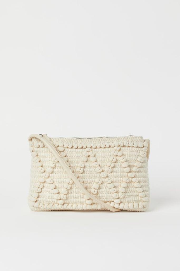 Textured-weave Clutch