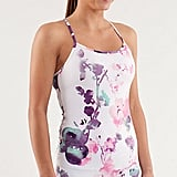 Lululemon's Power Y Tank ($52) is great in basic colors, but this watercolor-esque print makes it special for this season.