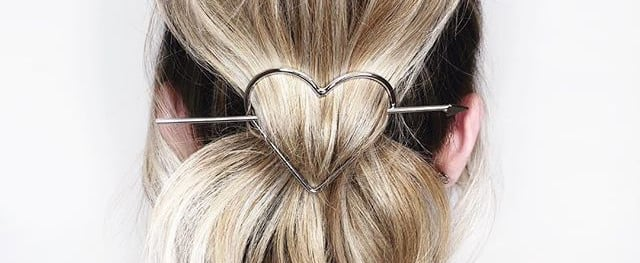 Barely-There Hair Clips For Hair