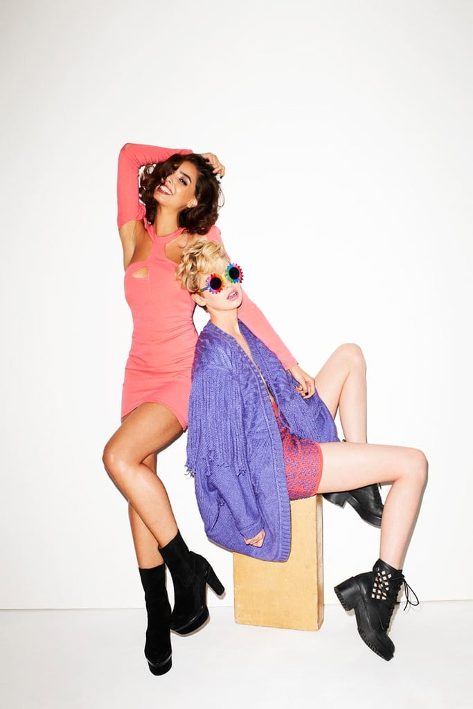 Brights and cutouts are very much on the Nasty Gal docket for Fall 2012.