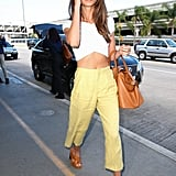 Lily Aldridge's Street Style And Red Carpet Style
