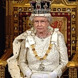 10: Number of hours spent delivering queen's speeches since she took power in 1952.  10: The age she was when she knew she would one day be Queen.  12: Number of prime ministers who have been in office since the queen began her reign. Margaret Thatcher's run was the longest, at 11 years.  13: The age she was when she first met Prince Philip.  21: Age upon marrying Prince Philip, Duke of Edinburgh, on Nov. 20, 1947.