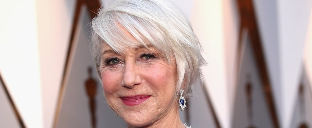 Helen Mirren Microblades Her Eyebrows