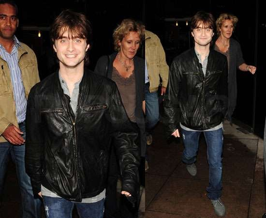 Pictures of Daniel Radcliffe at Harry Potter and the Deathly Hallows Screening After Spotted With New Girlfriend Olive Uniacke