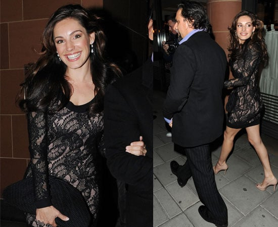 Pictures of Kelly Brook Out With A Mystery Man After Splitting From Danny Cipriani
