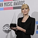 Taylor Swift at the 2010 American Music Awards