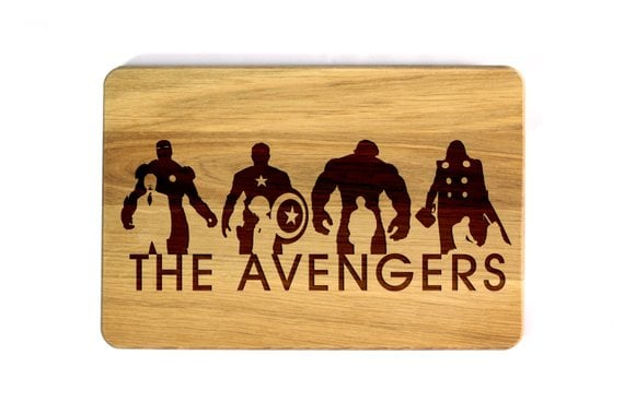 Avengers Cutting Board
