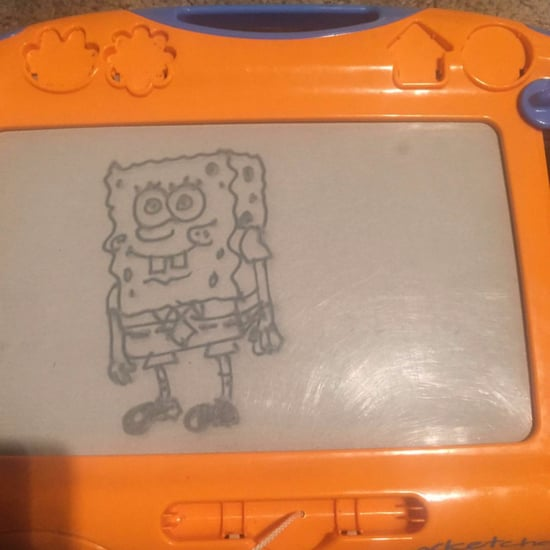 Creative Etch A Sketch Drawings
