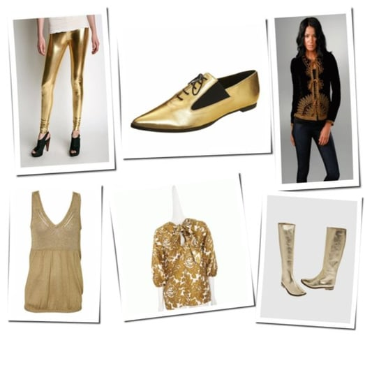 Solid Gold: Daytime Looks With A Nighttime Attitude
