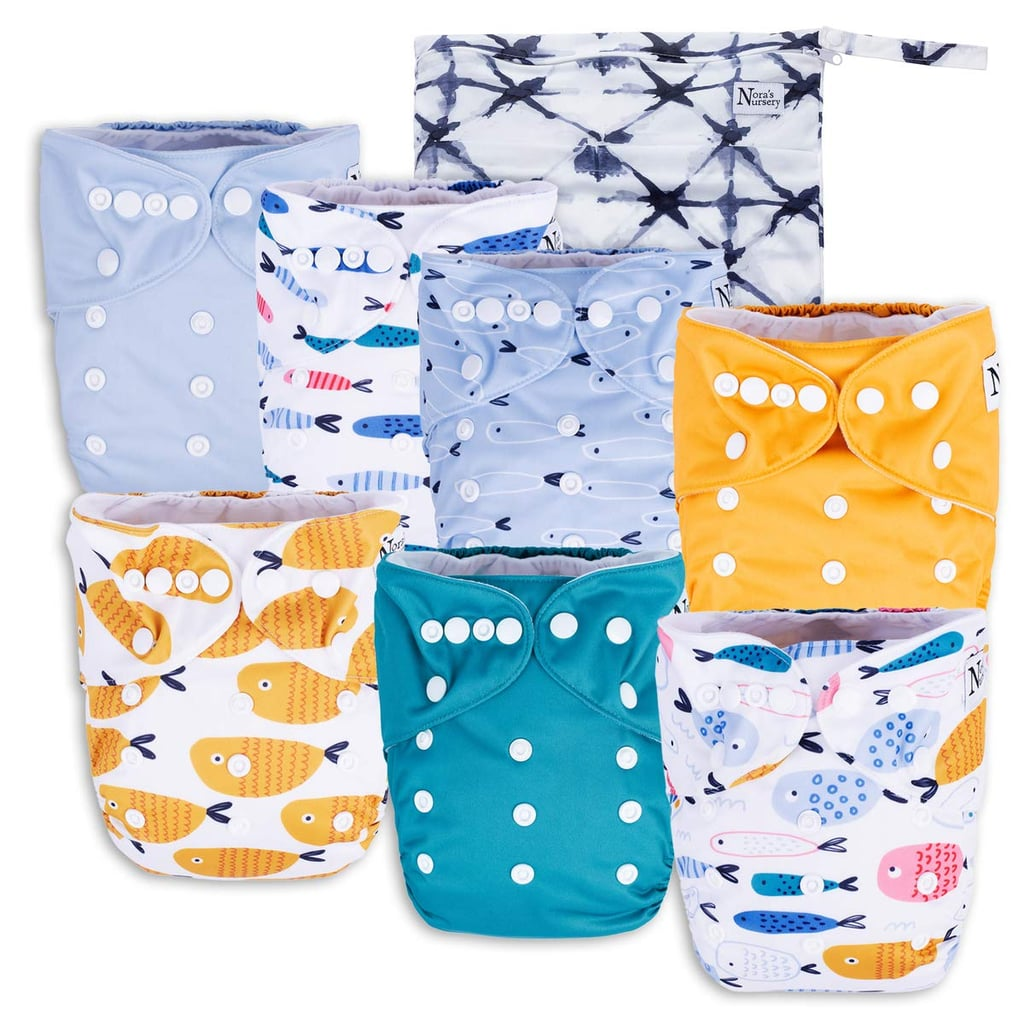 15 Cute Sets of Reusable Nappies For Babies