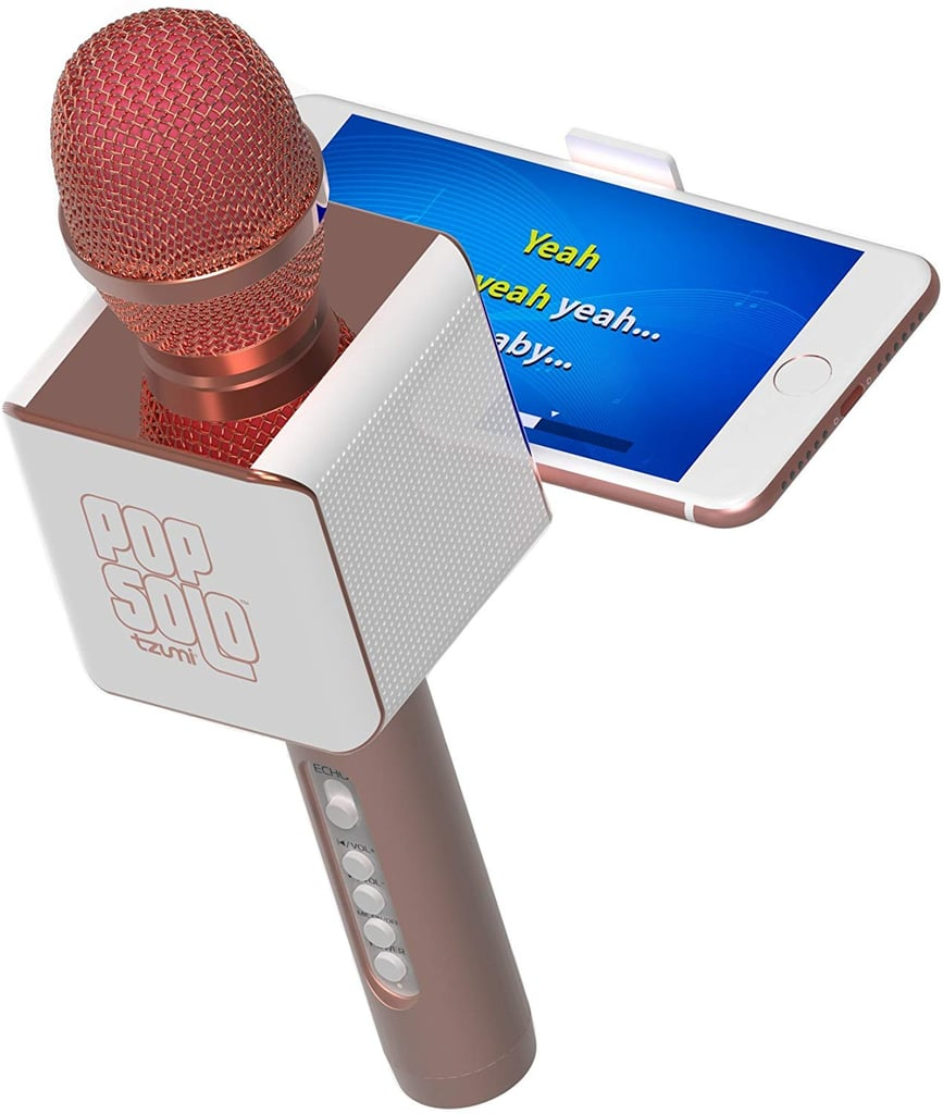 Bluetooth Karaoke Microphone and Voice Mixer with Smartphone