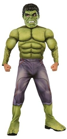 Hulk Deluxe Muscle Costume
